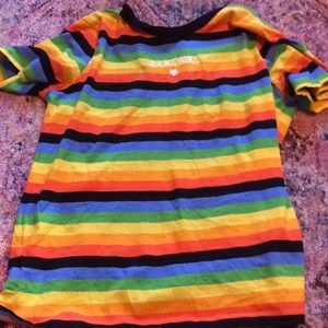 Striped baby girl forever 21 shirt